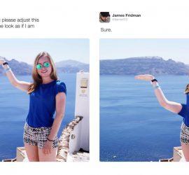 Подборка самых смешных фотожаб от Джеймса Фридмана
