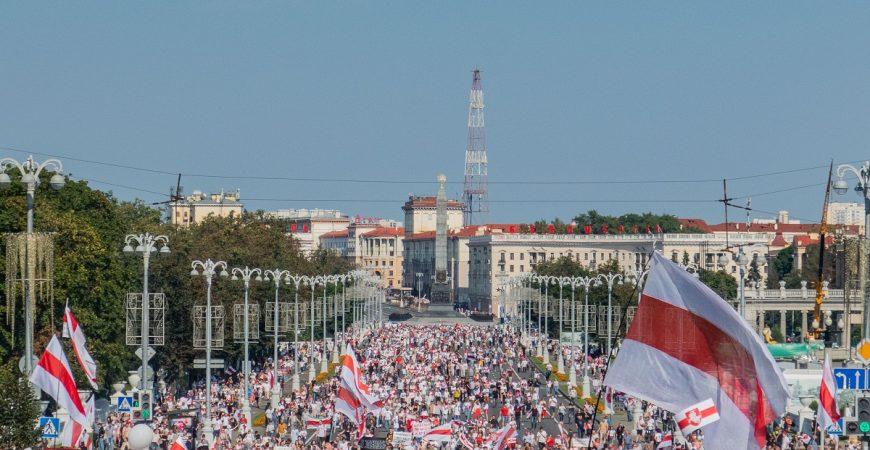 Протесты в Беларуси: самые знаковые моменты