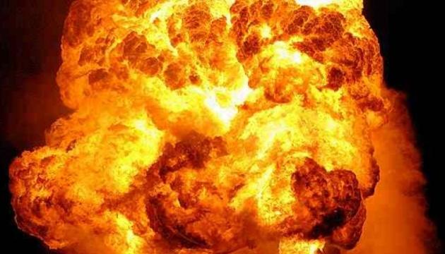 Момент мощного взрыва в Китае попал на видео