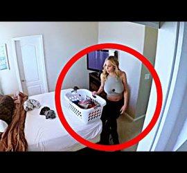 Страшные кадры, которые попали на камеры видеонаблюдения