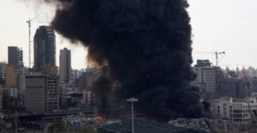 В Бейруте вспыхнуло здание культового архитектора Захи Хадид