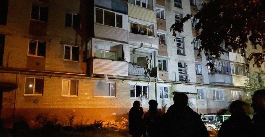 В Тюмени произошел мощный взрыв в жилом доме