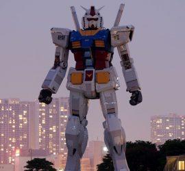 В Японии началось тестирование 18-метрового робота