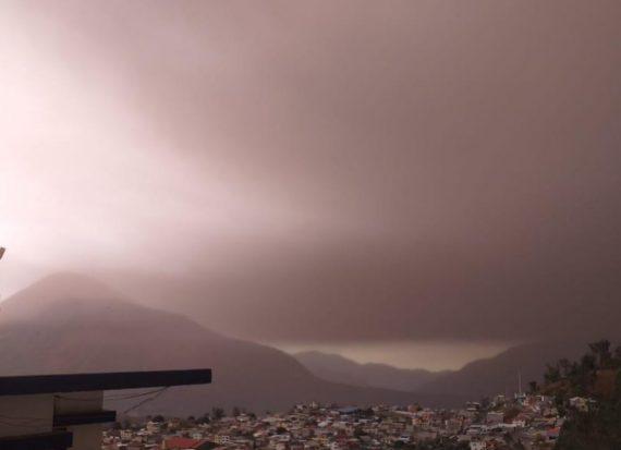 Эквадор засыпало пеплом: кадры постапокалипсиса