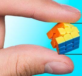 Как собрать самый маленький кубик Рубик в мире